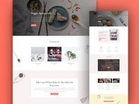 Online Recipes Website Template for Divi