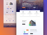 Real Estate Website Template - Sneak Peak