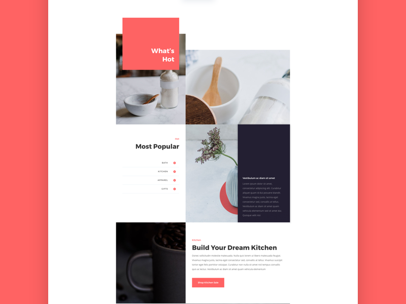boutique website template by elegant themes dribbble dribbble