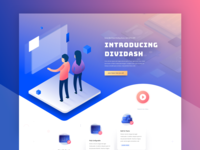 Software Launch Website Template