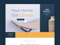 Furniture Sale Website Template