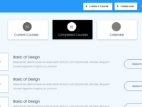 Wireframe for education