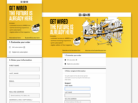 Subscription Signup for WIRED