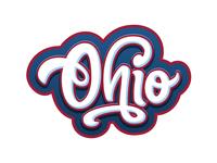 Ohio - lettering
