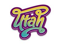 Utah Lettering