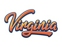 Virginia Lettering