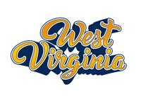 West Virginia Lettering