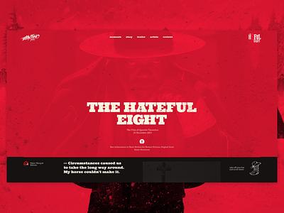 The H8FUL Eight concept film tarantino