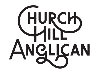 Not the new Church Hill Anglican logo