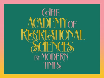 The Academy of Recreational Sciences