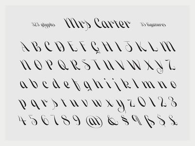 Mrs Carter