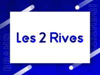 Les 2 rives - Refreshed logo