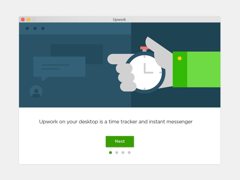 Time Tracker App Welcome Screens illustration ui onboarding screen welcome screen