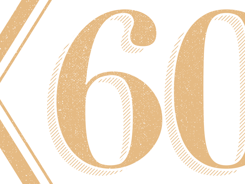Type 02 60 vector linework gold typography