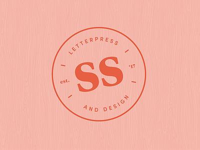 Sal Studios Monogram monogram branding letterpress