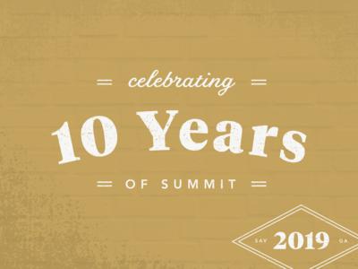 2019 Summit Branding