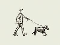 Dog Walking Sketch