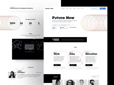 FutureNow Conference homepage