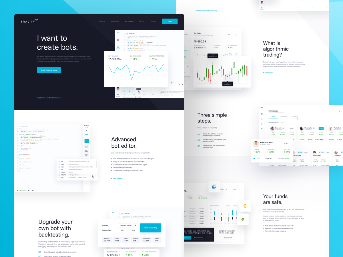Trality dribbble 1200x900 subpages
