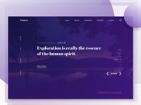 Trave io : Travel Website Idea
