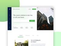 Redesign Concept of Real Estate Website