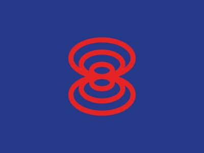 OCHO logodesigner modern minimalism design minimal clean logomark abstract geometric logo