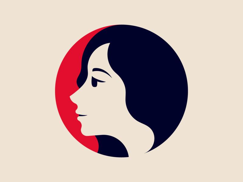 Mother logodesigner modern minimalism design minimal clean logomark abstract geometric logo