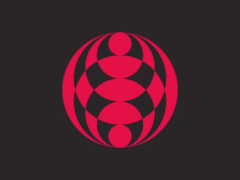 kaleidoscope world logodesigner modern minimalism design minimal clean logomark abstract geometric logo
