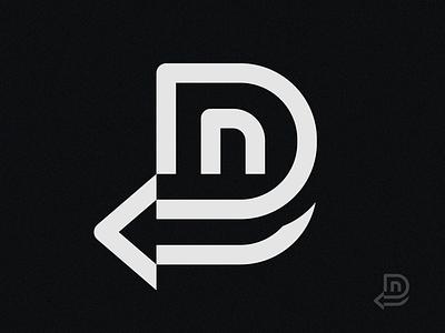 Detour geometric abstract logomark mark lettermark logodesigns logodesigner logo