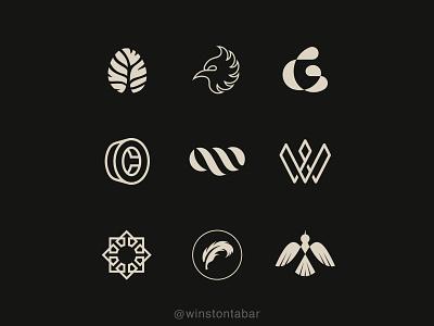 Logofolio—01 logodesigner modern minimalism design minimal clean logomark abstract geometric logo
