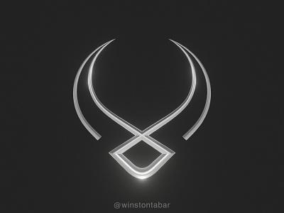 Metal Ox logodesigner modern minimalism design minimal clean logomark abstract geometric logo