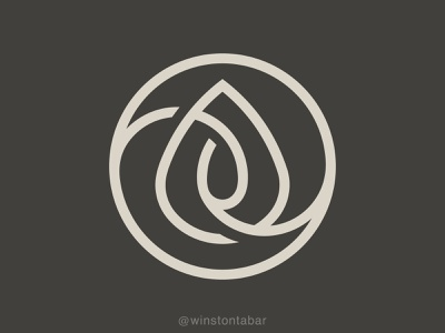 Life Potion logodesigner modern minimalism design minimal clean logomark abstract geometric logo