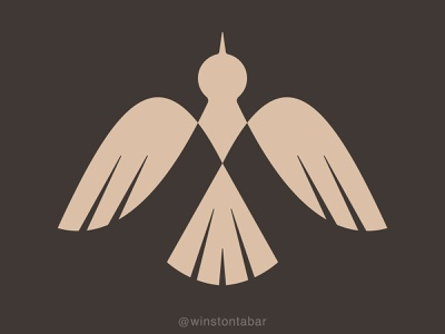 Mockingbird mockingbird geometric logo