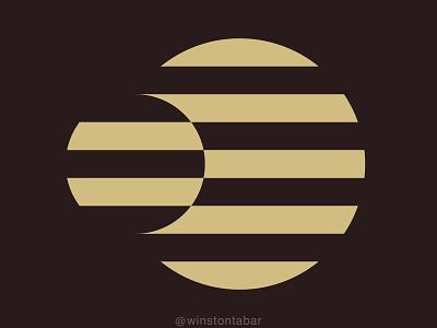 Orbit ui branding illustration design minimal clean logomark abstract geometric logo