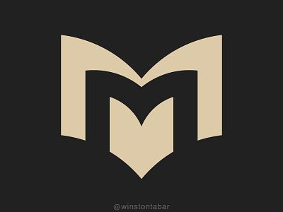 Mahal Books branding ui illustration design minimal clean logomark abstract geometric logo
