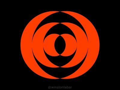 Rosa ui branding illustration design minimal clean logomark abstract geometric logo