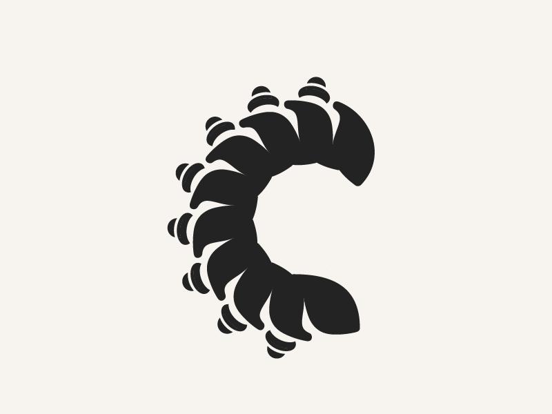 Caterpillar By Winston Tabar Dribbble Dribbble