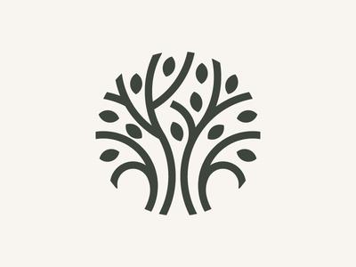 Willow Tree willow tree philippines filipino designer contemporary modern logo clean tree circles modernism minimalism geometric mark abstract mark