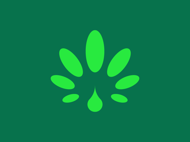 Hemp oil symbol logodesign identity modernism logodesigner modern minimalism design minimal clean logomark abstract geometric logo