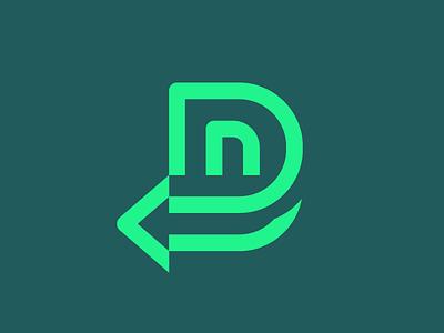 Detour symbol logodesigner modern minimalism abstract logomark minimal clean geometric logo