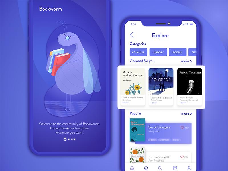 Bookworm - app for book readers