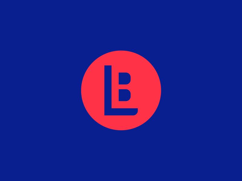 BL Monogram branding vector logo icon