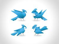 Final Four Origami Birds