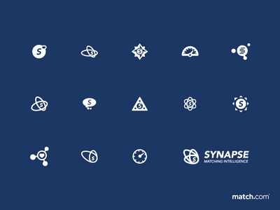 Match.com Synapse Feature Icons