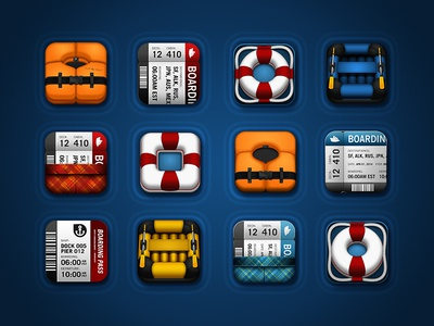OnBoard Mobile App Icon Evolution