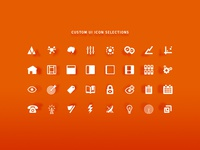 UI Icon Selections