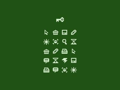 8 Bit Icon Group