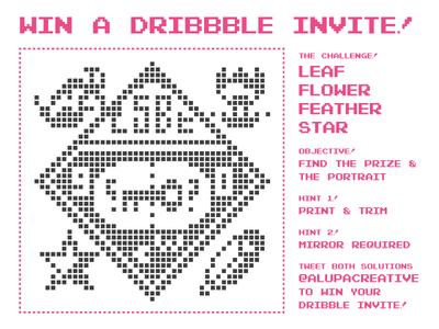 Dribbble Invite Ridddle