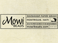 Mowi Beads stamp