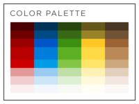 Color palette .psd download